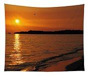 Jamaica Sunset Tapestry