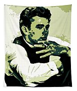 James Dean Poster Art Tapestry