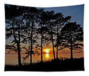 James River Sunset Tapestry