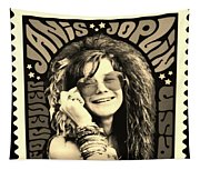 Janis Stamp In A Sepia Vibe Tapestry