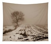 January Fog Tapestry