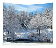 January Trees Tapestry