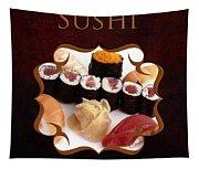Japanese Cuisine Gallery Tapestry