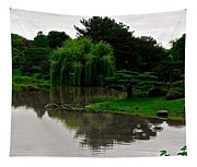 Japanese Garden Point Tapestry