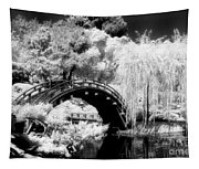 Japanese Gardens And Bridge Tapestry