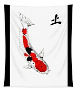 Japanese Koi Sanke Feng Shui Earth Tapestry