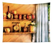 Jars - Kitchen Shelves Tapestry