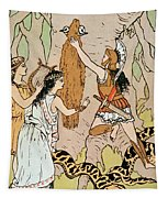 Jason Seizing The Golden Fleece Tapestry