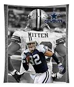 Jason Witten Cowboys Tapestry