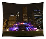 Jay Pritzker Pavilion Chicago Tapestry