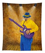 Jazz Guitar Man Tapestry