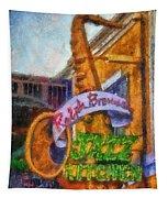 Jazz Kitchen Signage Downtown Disneyland Photo Art 02 Tapestry