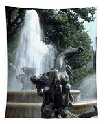 J.c.nichols Fountain 1 Kc.mo Tapestry