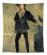 Jean Baptiste Faure In The Opera Hamlet By Ambroise Thomas Tapestry