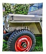 Jeep Willys Ww2 Tapestry