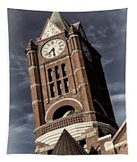 Jefferson County Courthouse Clock Tower Tapestry