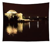 Jefferson Memorial From Across The Tidal Pool Tapestry