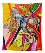 Jenny's Dragonfly In Acrylic Tapestry