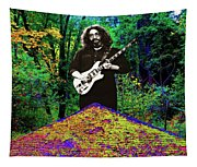 Jerry At The Cosmic Pyramid In The Woods  Tapestry