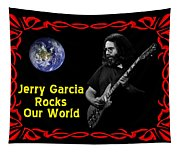 J G  Rocks Our World Tapestry