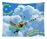 Jerry In The Sky With Love Tapestry