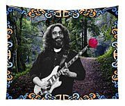 Jerry Road Rose 1 Tapestry