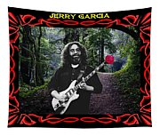 Jerry Road Rose 3 Tapestry