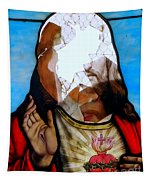 Jesus Abstract Tapestry