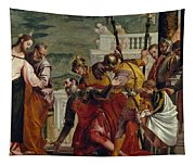 Jesus And The Centurion Tapestry