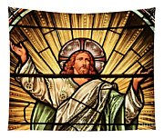 Jesus - The Light Of The Wold Tapestry