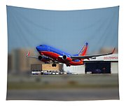 Jet Chicago Airplanes 17 Tapestry
