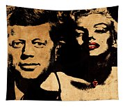 Jfk And Marilyn Tapestry