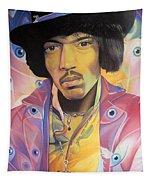 Jimi Hendrix-eyes Tapestry