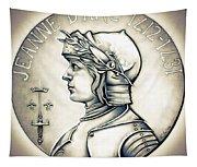 Joan Of Arc - Original Tapestry