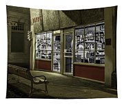 Joe's Barber Shop Tapestry