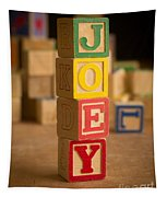 Joey - Alphabet Blocks Tapestry