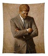 John F Kennedy 2 Tapestry