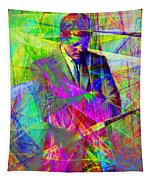 John Fitzgerald Kennedy Jfk In Abstract 20130610 Tapestry