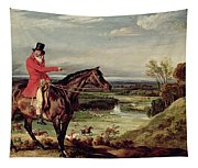 John Levett Hunting In The Park At Wychnor Tapestry