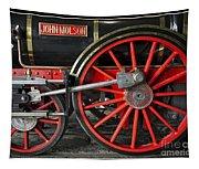 John Molson Steam Train Locomotive Tapestry