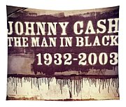 Johnny Cash Memorial Tapestry
