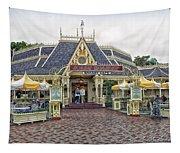 Jolly Holiday Cafe Main Street Disneyland 01 Tapestry