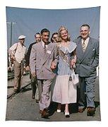 Jone Ann Pedersen Miss California June 1949 Tapestry