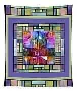 Jornada Mogollon Kaleidoscope Tapestry