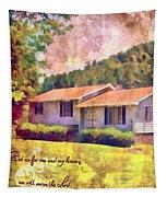 Joshua 24 15 Tapestry
