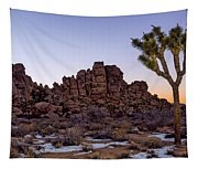 Joshua Sunset Tapestry
