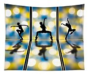 Joy Of Movement Tapestry