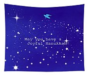 Joyful Hanukkah Card  Tapestry