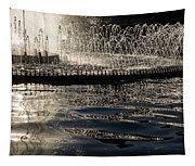 Joyful Sunny Splashes Tapestry