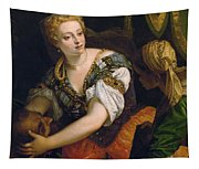 Judith With The Head Of Holofernes Tapestry